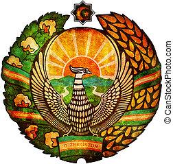 uzbekistan coat of arms
