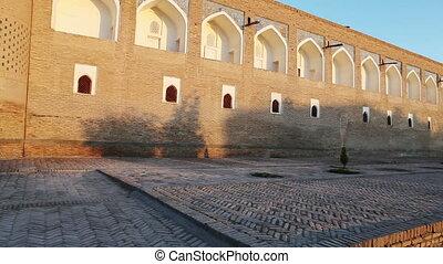 Uzbekistan. Khiva. Streets of the old city