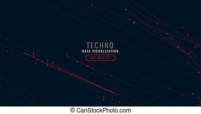 uzmysłowienie, cielna, abstrakcyjny, tło, cyfrowy, dane