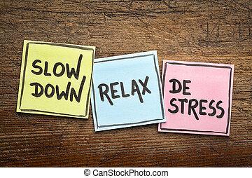vá, relaxe, de-tensão, conceito