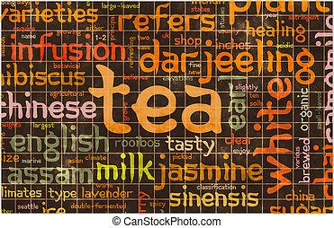 válogatott, tea
