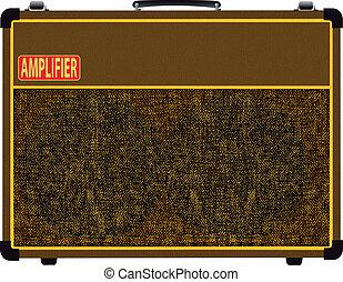 válvula, amplifier.