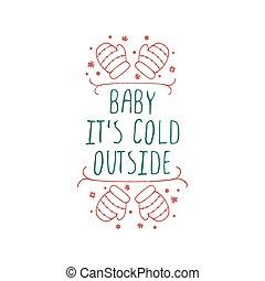 vánoce, charakterizovat, s, text, oproti neposkvrněný, grafické pozadí