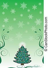vánoce, grafické pozadí, 10