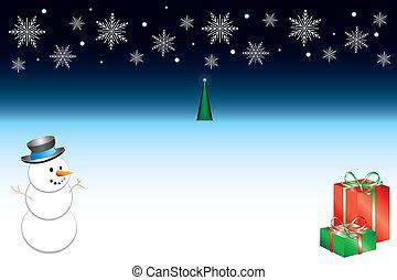 vánoce, grafické pozadí, 3