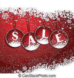 vánoce, grafické pozadí, prodej