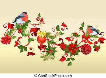 vánoce malování