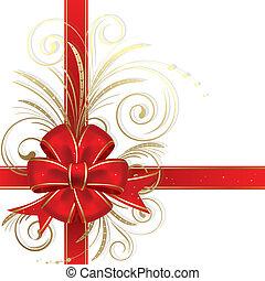 vánoce, poklona