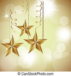vánoce, zlatý hřeb