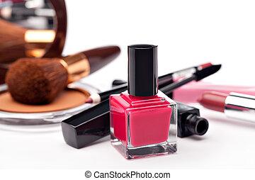 vário, cosméticos