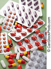 vário, pílulas