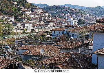város, alatt, albánia