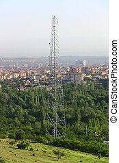 város, antenna