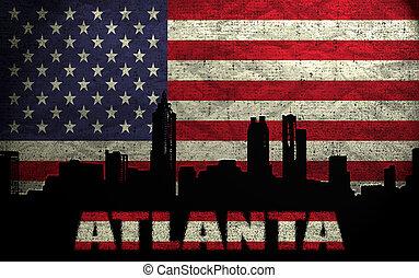 Város,  Atlanta, kilátás
