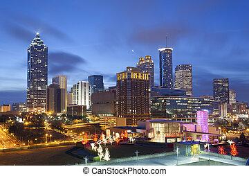 Város,  Atlanta