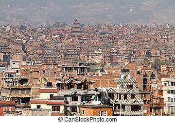 város, bhaktapur, nepáli