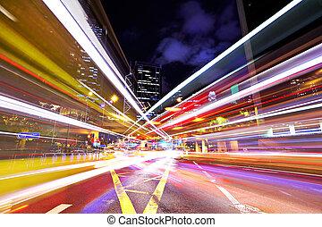 Város, elfoglalt, Forgalom