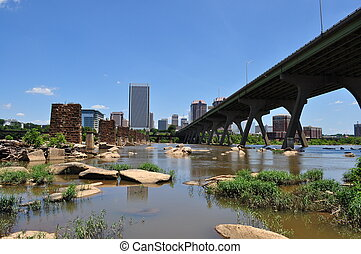 város, folyó