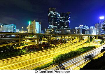 Város, Forgalom, Éjszaka