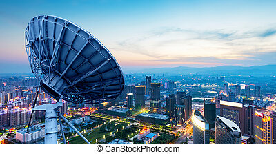 város, kína, állati tüdő, nanchang