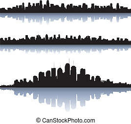 város, körvonal