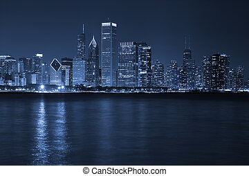 város, közül, chicago.