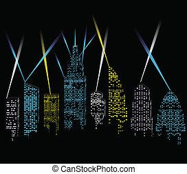 város láng