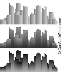 Város, láthatár