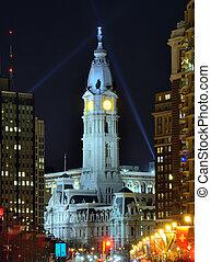 Város,  philadelphia, előszoba
