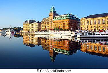 város, stockholm