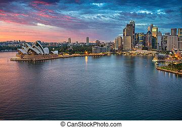 Város,  Sydney