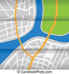 város térkép