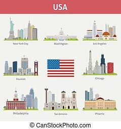 városok, bennünket