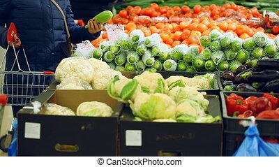 vásárlók, -ban, növényi, bolt