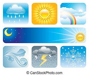 väder, och, klimat
