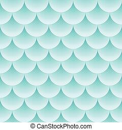 vägar, mönster, fish, -, seamless, struktur, vektor, abstrakt