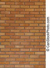 vägg, bakgrund, solbränna, tegelsten