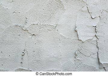 vägg, cement, bakgrund, våt