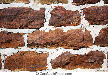 vägg, fieldstone, bakgrund