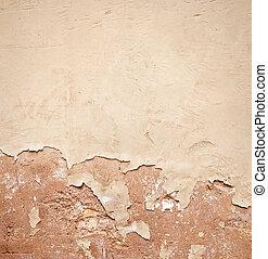 vägg, gammal, bakgrund, strukturerad