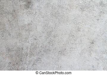 vägg, konkret, gammal, bakgrund