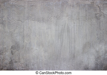 vägg, konkret, grungy, bakgrund., golv