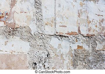 vägg, konkret, struktur