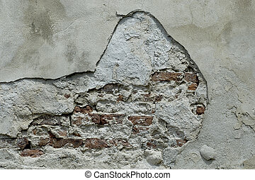vägg, konkret, texture.