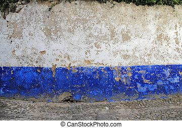 vägg, skalning målar