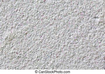 vägg, spots., vit fond, färgrik