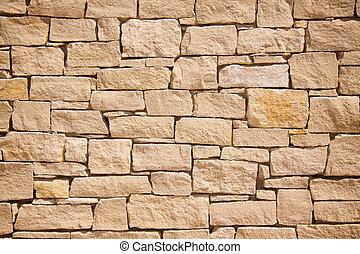 vägg, sten, bakgrund