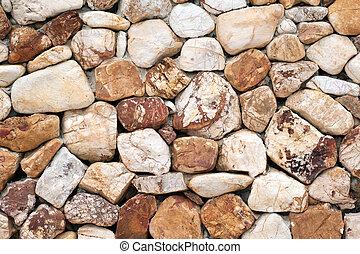 vägg, sten, bakgrund, struktur