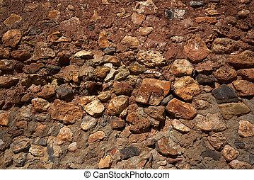 vägg, sten, frimureri, spanien