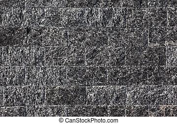vägg, sten, gjord, naturlig